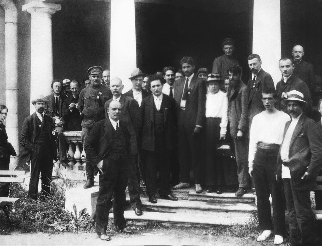 Делегаты второго съезда Коминтерна в Урицком дворце в Петрограде