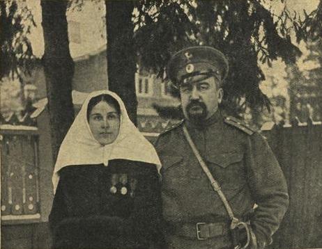 Александр Иванович с Елизаветой Морицевной Куприной (Гейнрих)