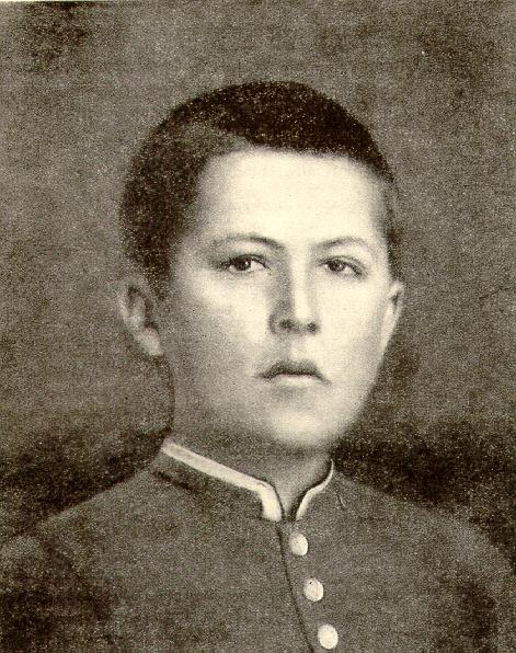 Юный Антон Павлович Чехов
