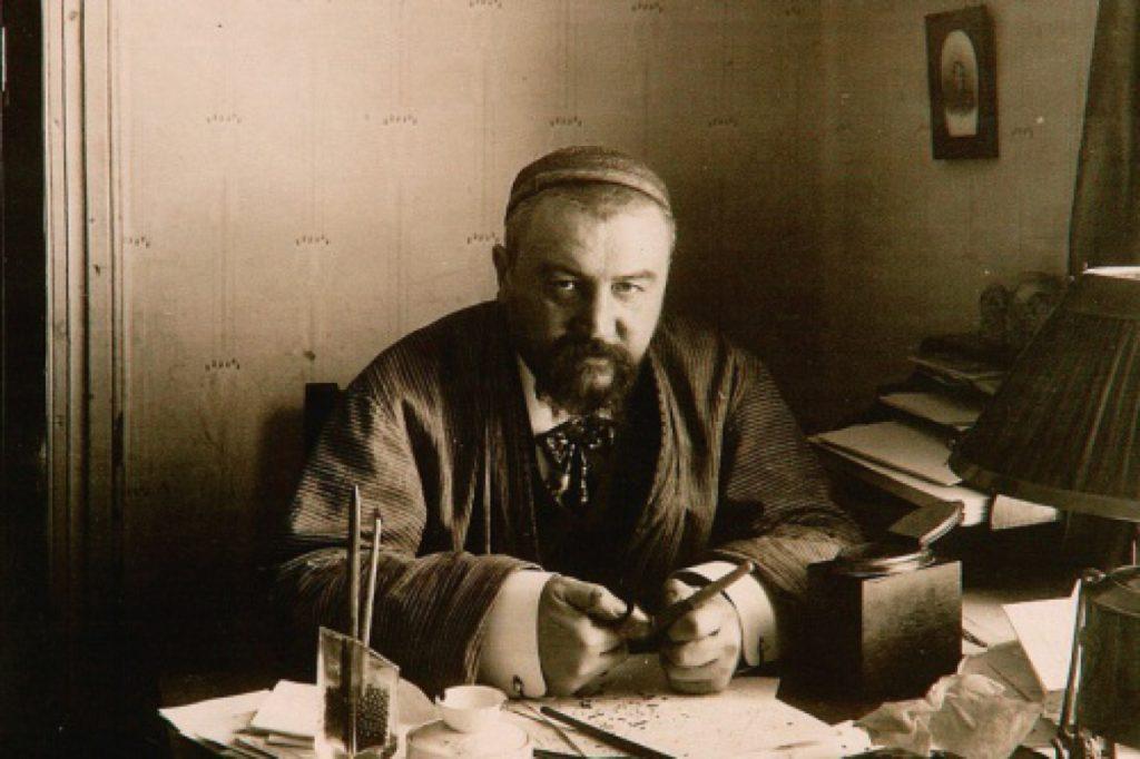 Александр Куприн в образе монгольского хана