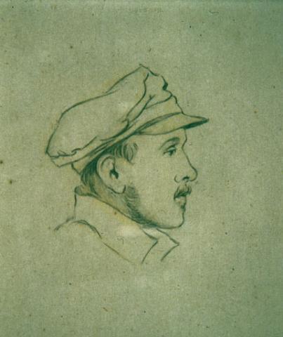 Дмитрий Пален. М. Ю. Лермонтов после валерикского боя. 1840г.