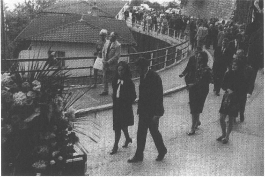 Похороны Ремарка в Асконе. 1970 г.
