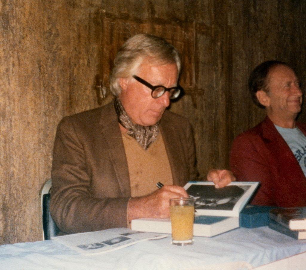 Рэй Брэдбери в 1977 году. Автор Will Hart