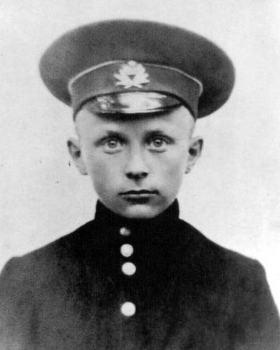Михаил Булгаков в детстве.