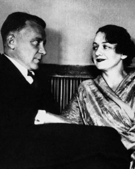 Михаил Булгаков с третьей женой – Еленой Шиловской.