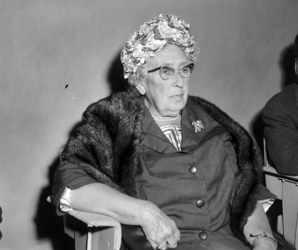 Писательница Агата Кристи