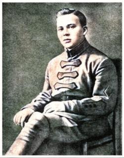 Комбат А. Голиков. 1922 г.