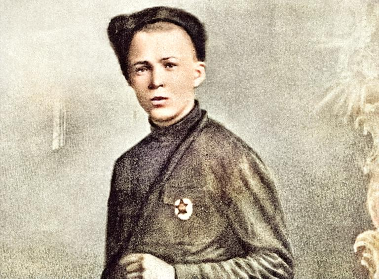 Аркадий Гайдар в нахале 1920-ых годов