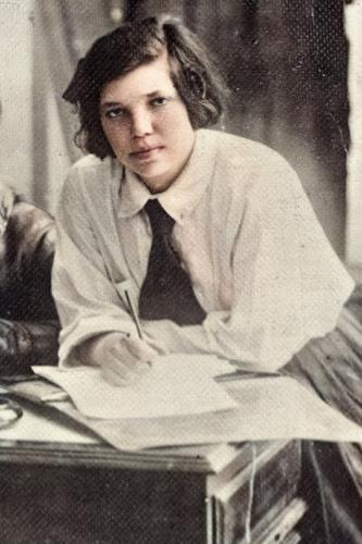 Лия Коломенская - вторая жена Аркадия Гайдара