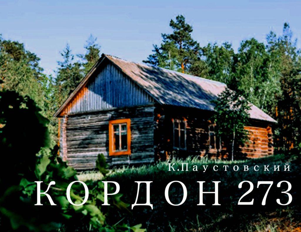 кордон 273 аудиокнига