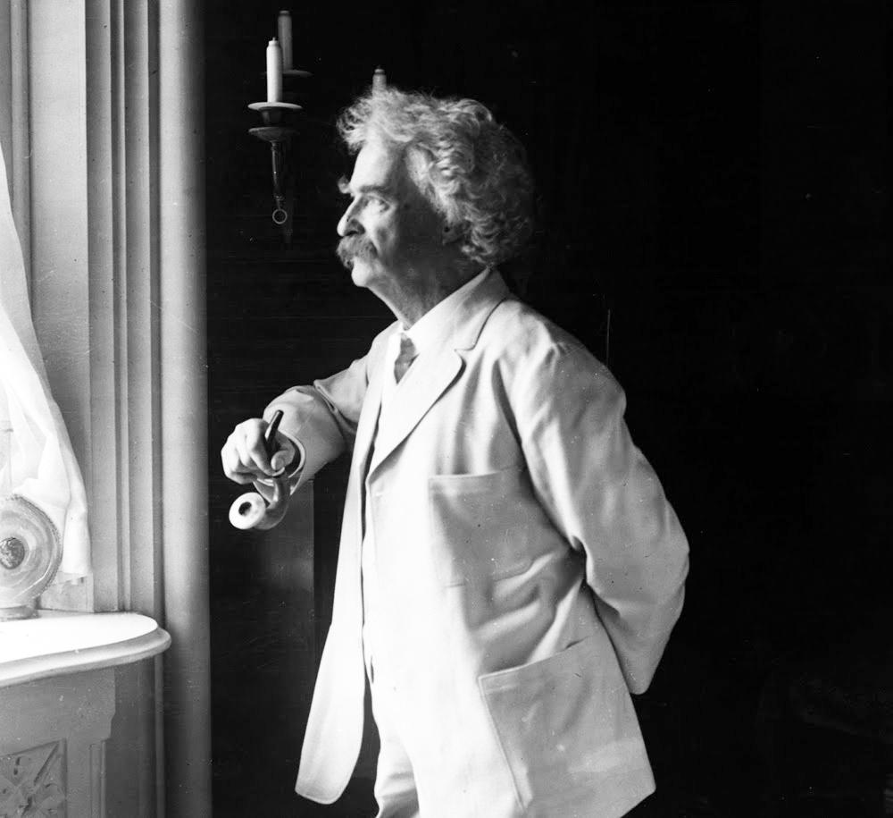 Марк Твен, 1907 г