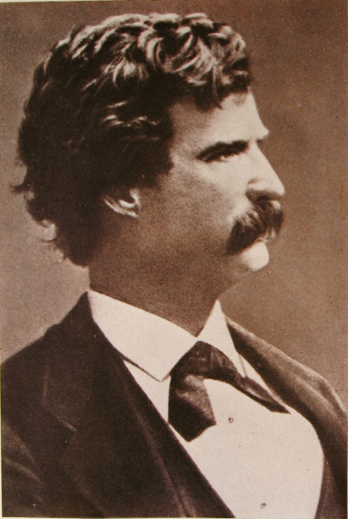 Марк Твен в 1871