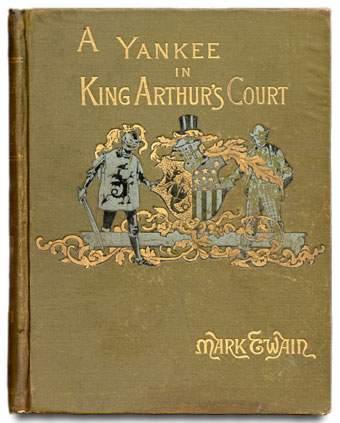 Первое издание книги «Янки из Коннектикута при дворе короля Артура»